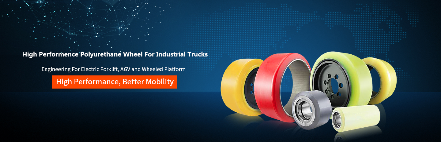 Polyurethane Wheel For Industrial Trucks